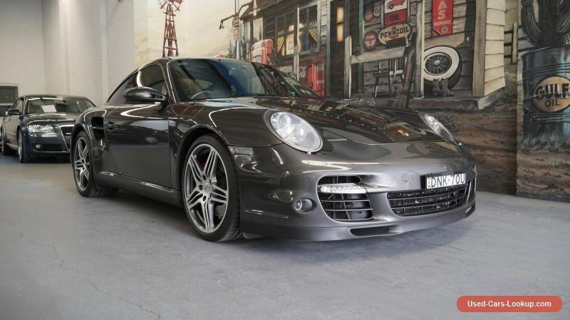 2006 Porsche 911 997 MY07 Turbo AWD Metallic Grey Manual 6sp M Coupe #porsche #911 #forsale #australia
