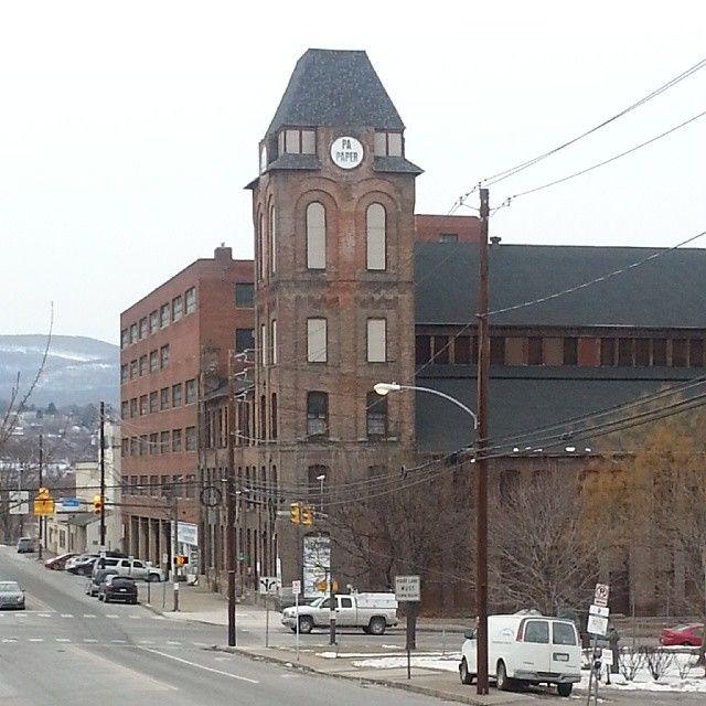 Dunmore Pennsylvania: Pennsylvania Paper & Supply Company In Scranton, PA