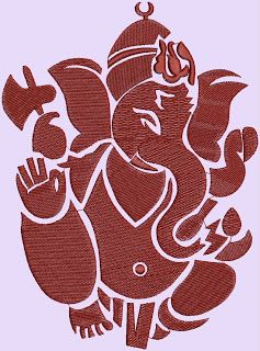 Indian Hindu God Ganesh Embroidery Designs With Images Hindu