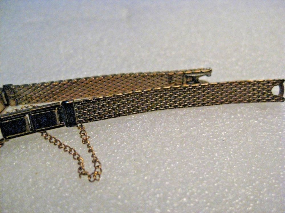 Vintage 10kt G.F. Speidel Watch Band, Ladies, Yellow Gold, 5-5/8