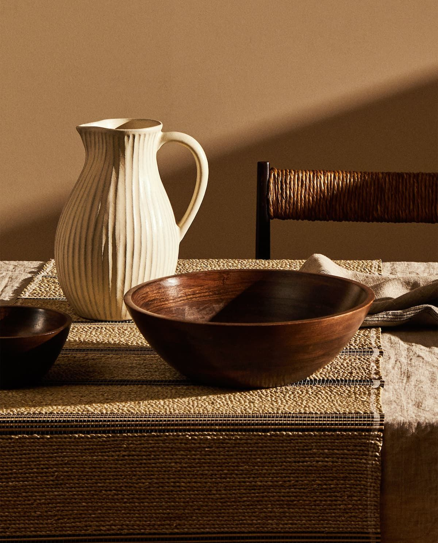 Large Wooden Bowl 29 99 I 2020 Traskal