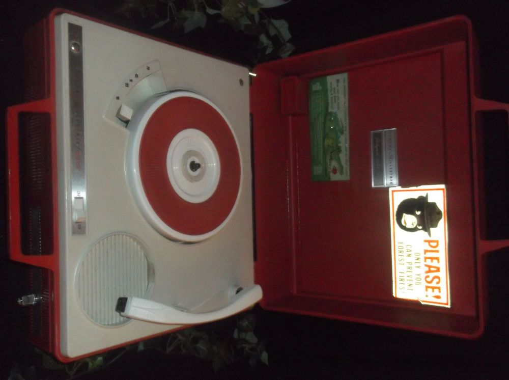 $24.96 General Electric Partymate Solid State Portable Record Player Vintage 4 Speeds  #GeneralElectric