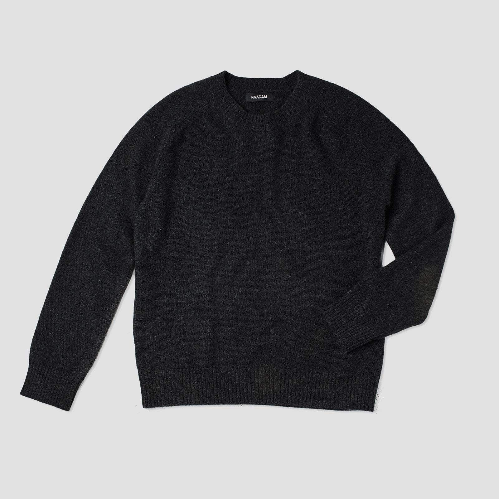 The luxe unisex cashmere sweater black in products pinterest