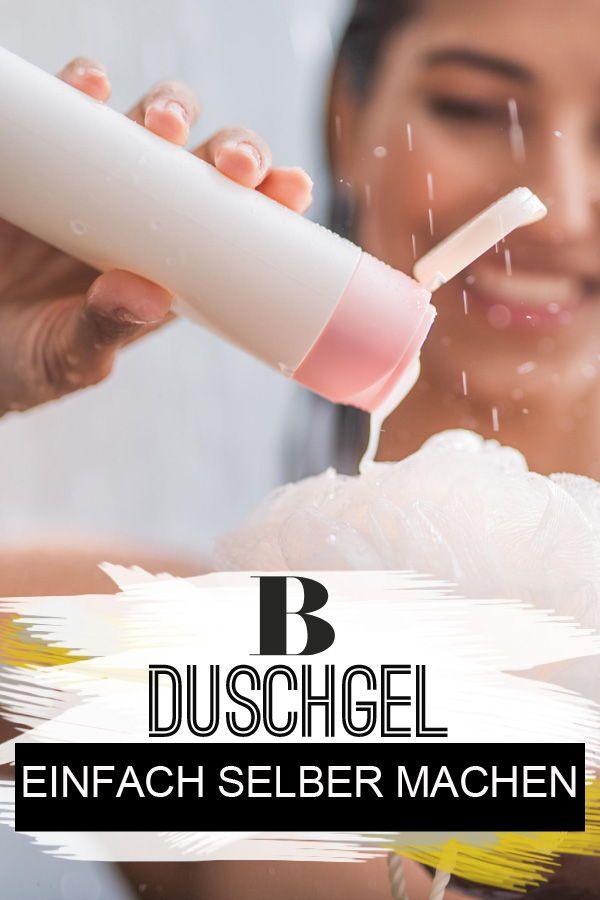 Mit nur 3 Zutaten kannst du Duschgel selber machen!