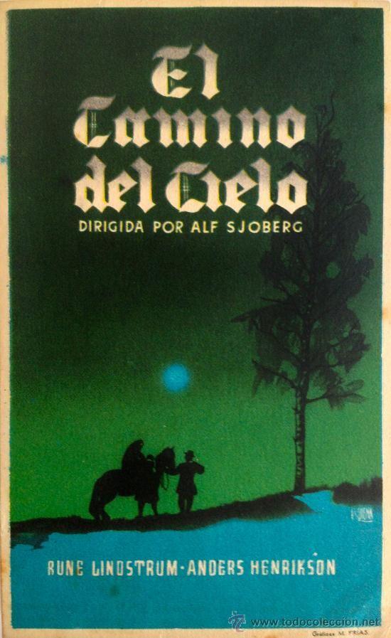 EL CAMINO DEL CIELO (HIMLASPELET) FILM SUECO DE 1942- ALF SJOBERG- RARO- - Foto 1