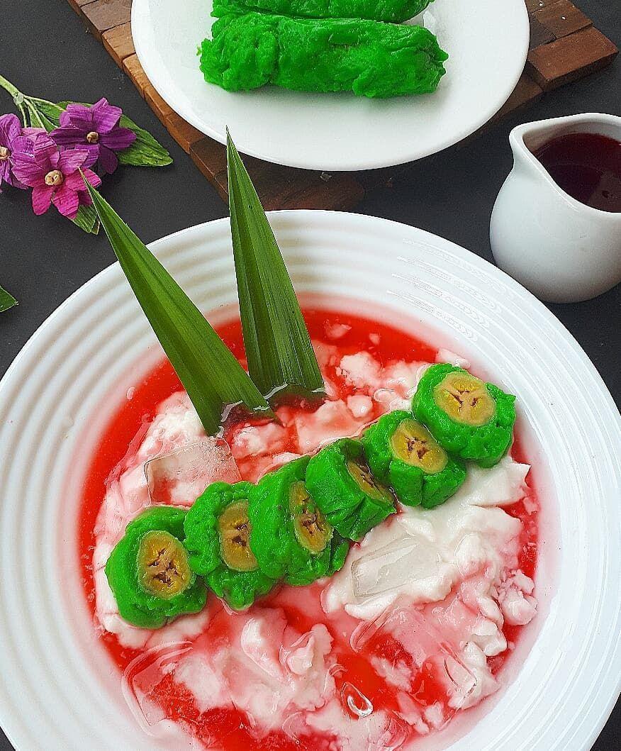Resep Es Pisang Ijo Resep Masakan Masakan Resep Masakan Indonesia