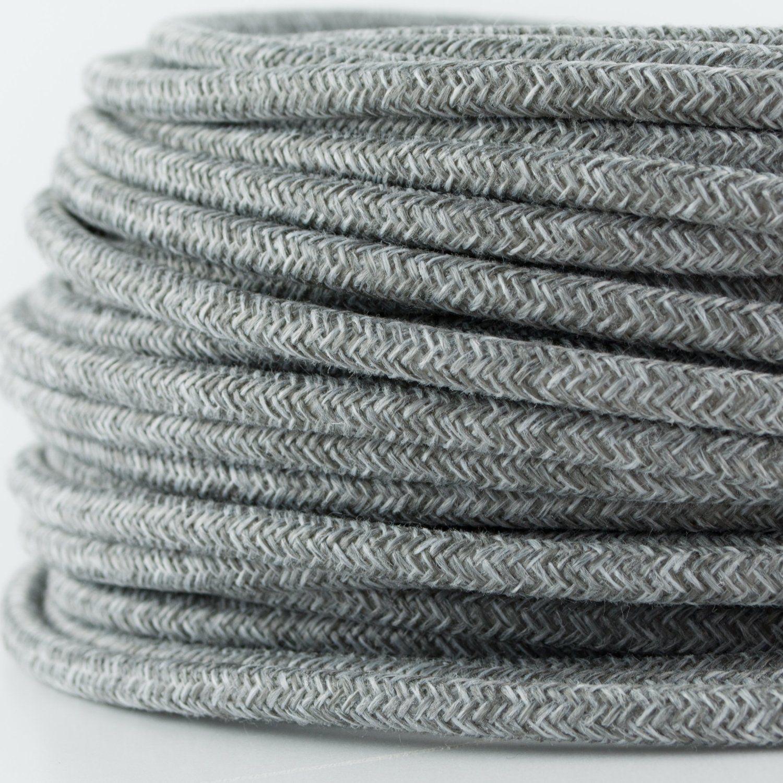 Textilkabel Le textilkabel für le textilummanteltes rundkabel zweiadrig 2x0