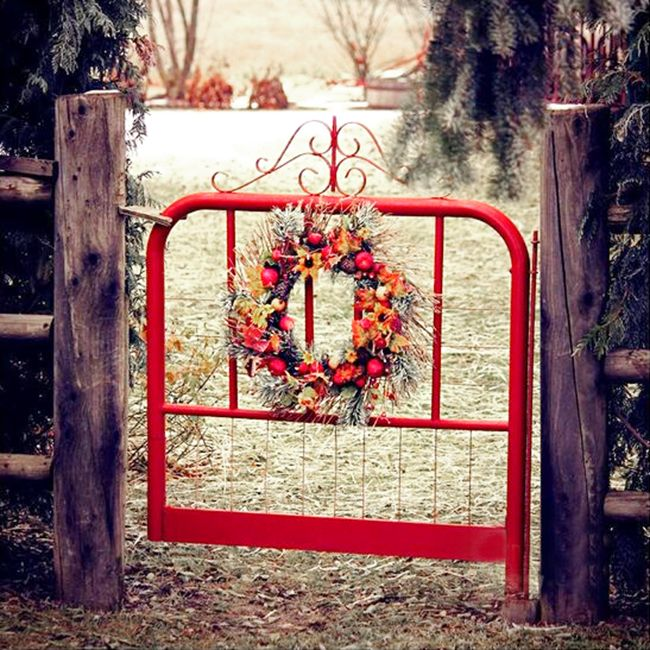 Beautiful backyard garden inspiration for your home! Creative gates
