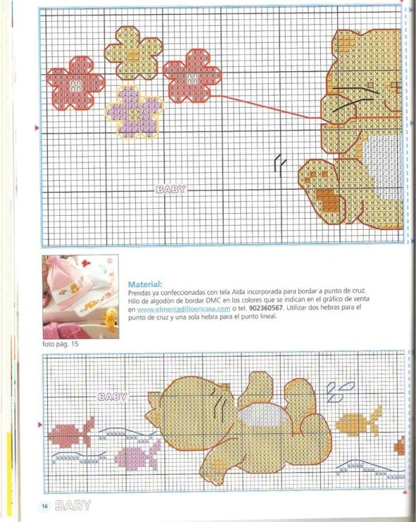 Gallery.ru / Фото #69 - toalhas infantis 3 - tekere205