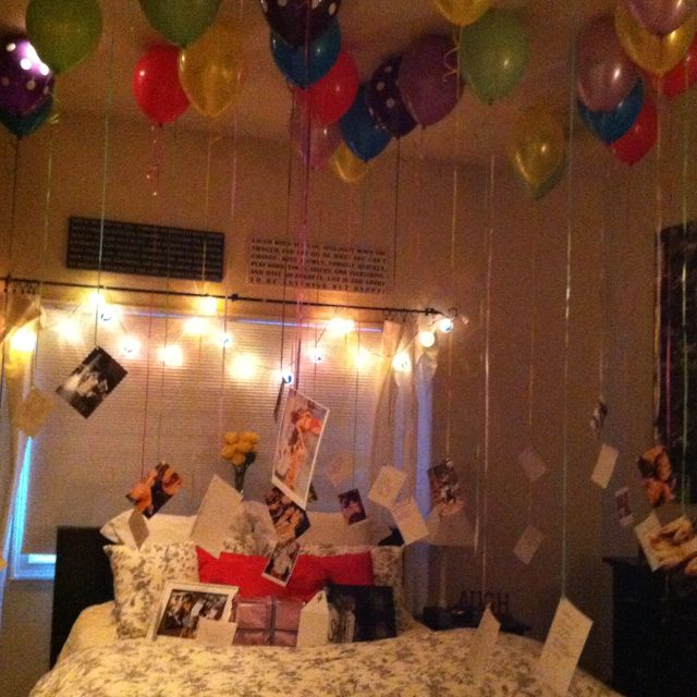 Surprises That I Did For My Boyfriend S Birthday: I'm Doing This Next Week! Without The Photos Though...I