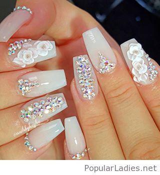 New nail art design so feminine and elegant make up and nails new nail art design so feminine and elegant prinsesfo Choice Image