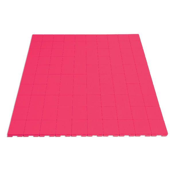 Custom studded exhibition floor tiles #retaildisplay #exhibitionflooring #exhibitiondesign #flooring