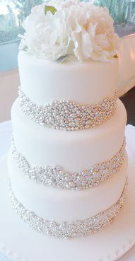 Silver Pearls For Cake Decorating  from i.pinimg.com