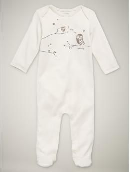 I love baby gap. @Whitney Hale , This has owls on it, I think B2 NEEDS it! :)