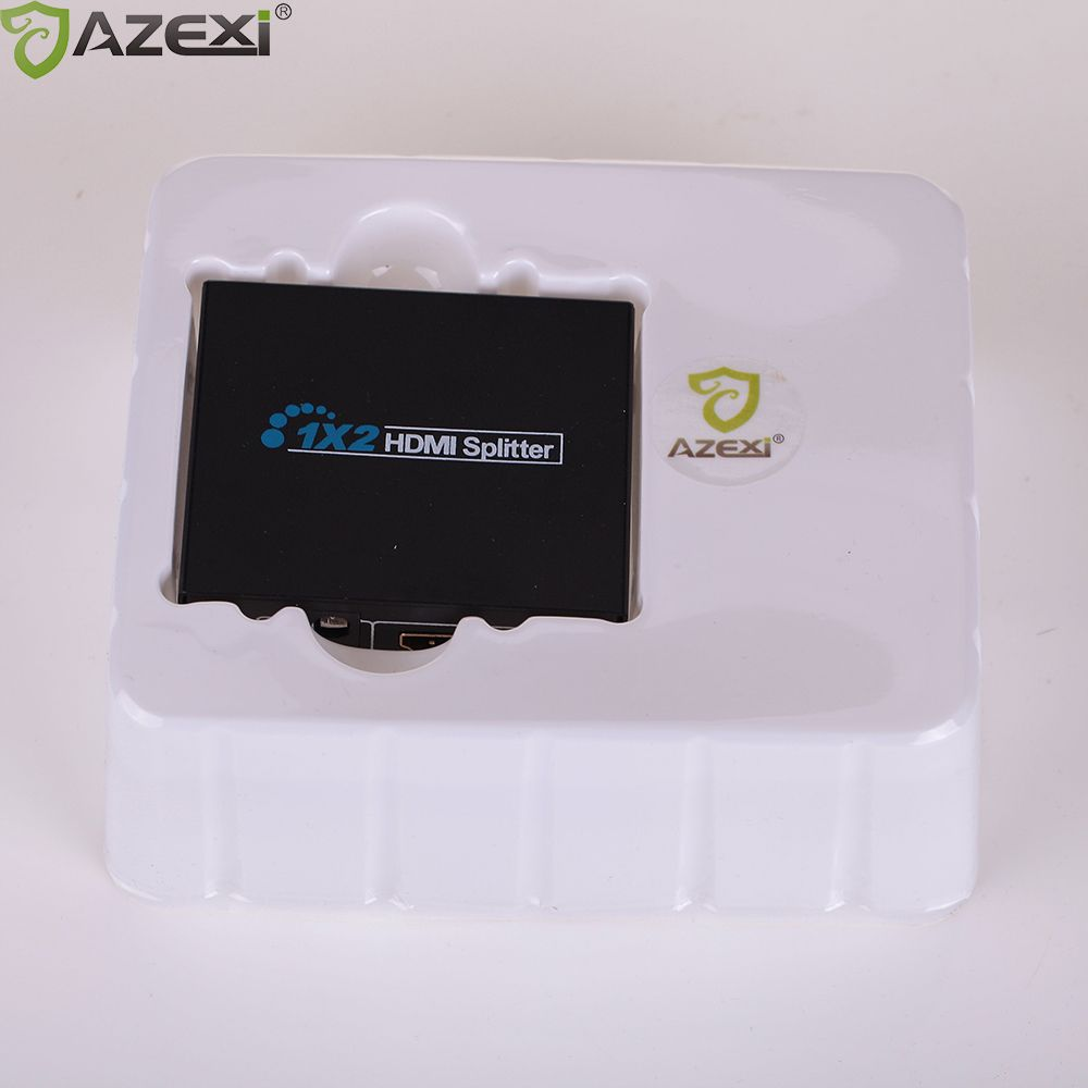 3D HDMI SPlitter 1X2 Split one HDMI Input to 2 HDMI Output With Power  Supply Switch