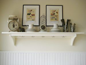 Long White Decorative Wall Shelf  Httplegambienteanzionettuno Classy Decorative Kitchen Shelves Design Inspiration