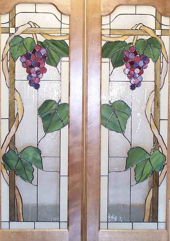 Love these as either door panels or kitchen cupboard ...