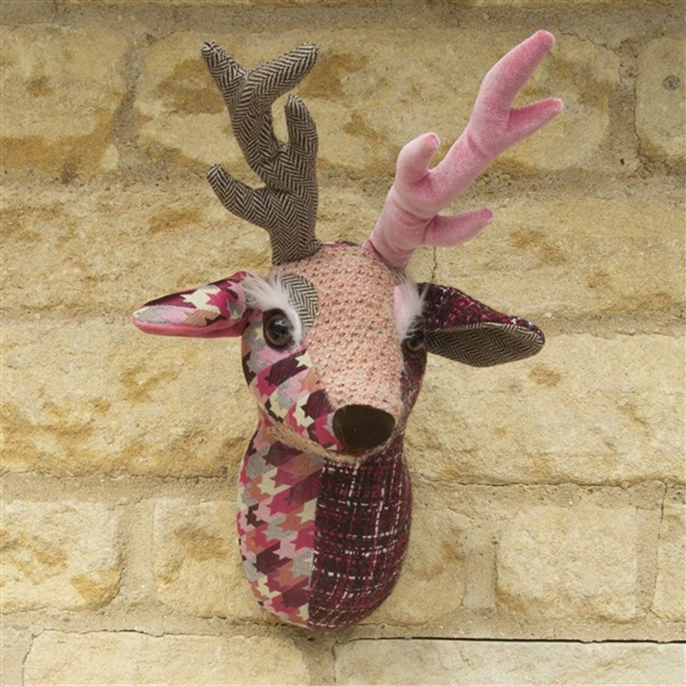 Charming Deer Head Wall Decoration Images - The Wall Art Decorations ...