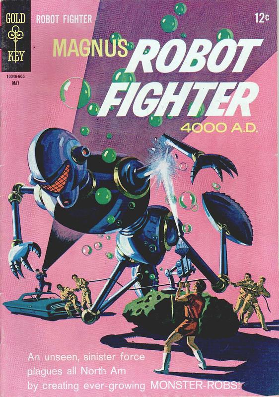 Magnus Robot Fighter 4000 A D Comic Heroes Art Retro Comic Fighter