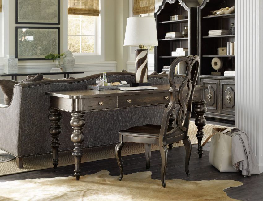 The Auberose writing desk offers European Country style infused with ...