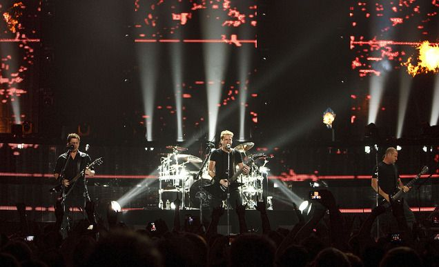 nickelback performs at energysolutions arena on tuesday june 12 2012 in salt lake city. Black Bedroom Furniture Sets. Home Design Ideas