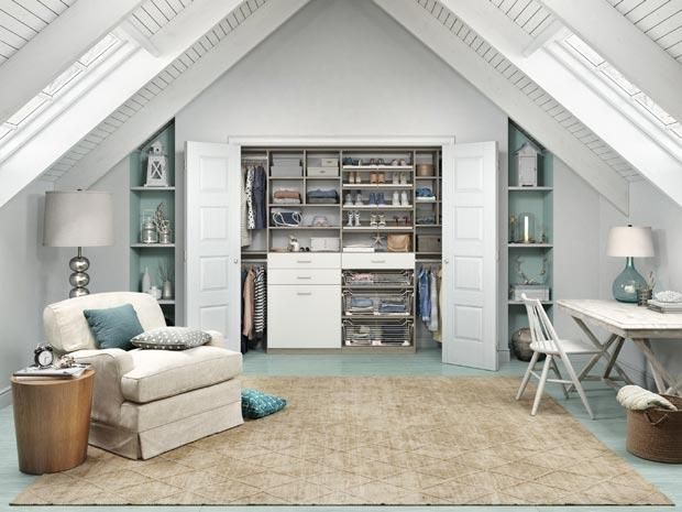 Living Room Closet Design Alluring Reachin Closets  Designs & Ideascalifornia Closets  Attic Review