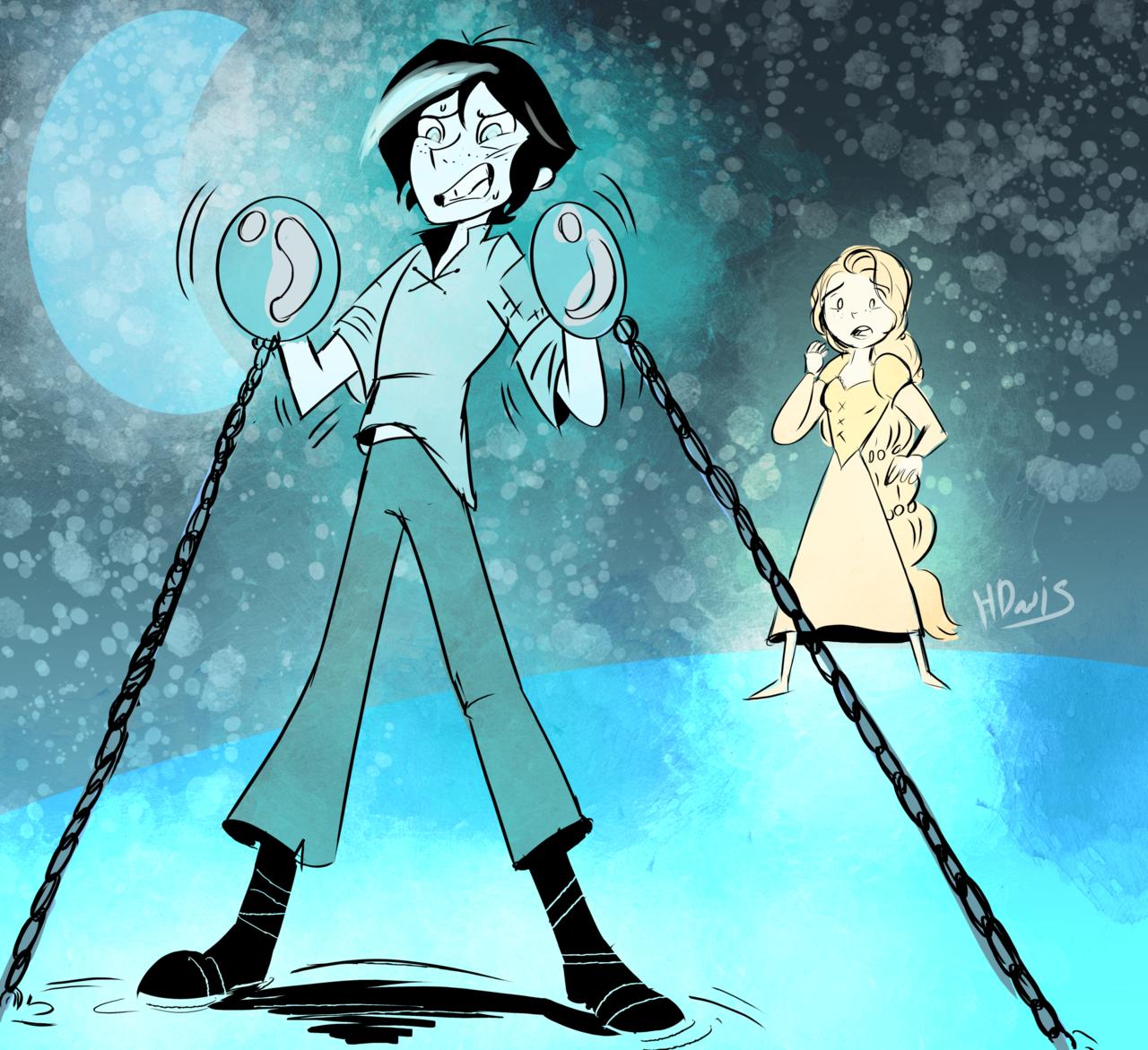 Varian Imprisoned Disney Tangled Cartoon Crossovers Tangled Series