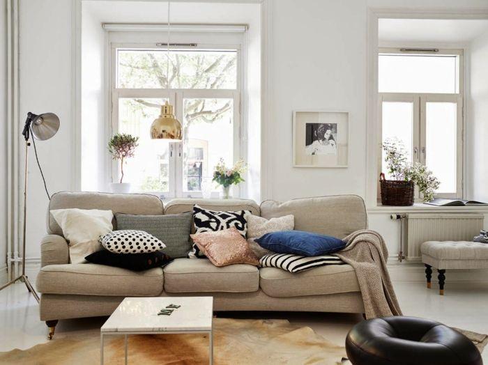 sofa kaufen wohnzimmer möbel skandinavischer stil | wohnzimmer, Wohnzimmer