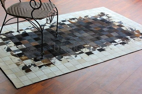 This Salvo Style Rug Is Made Of Natural White Jersey And