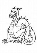 Image Result For Scary Horror Coloring Pages Dragon Art