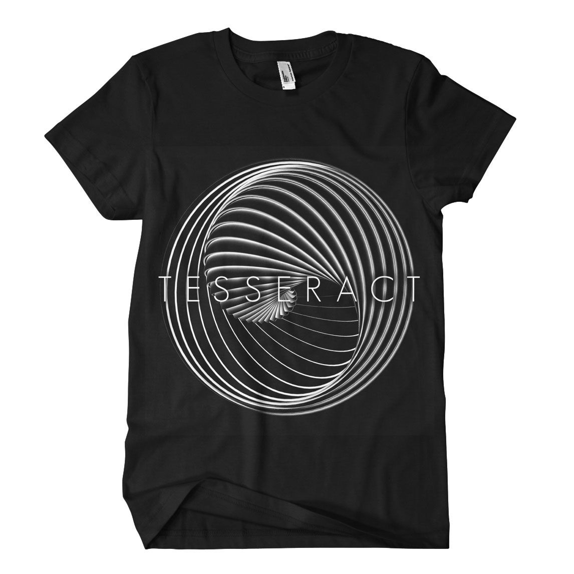 Tesseract (Tour) Black T-Shirt. This has got to be stitched
