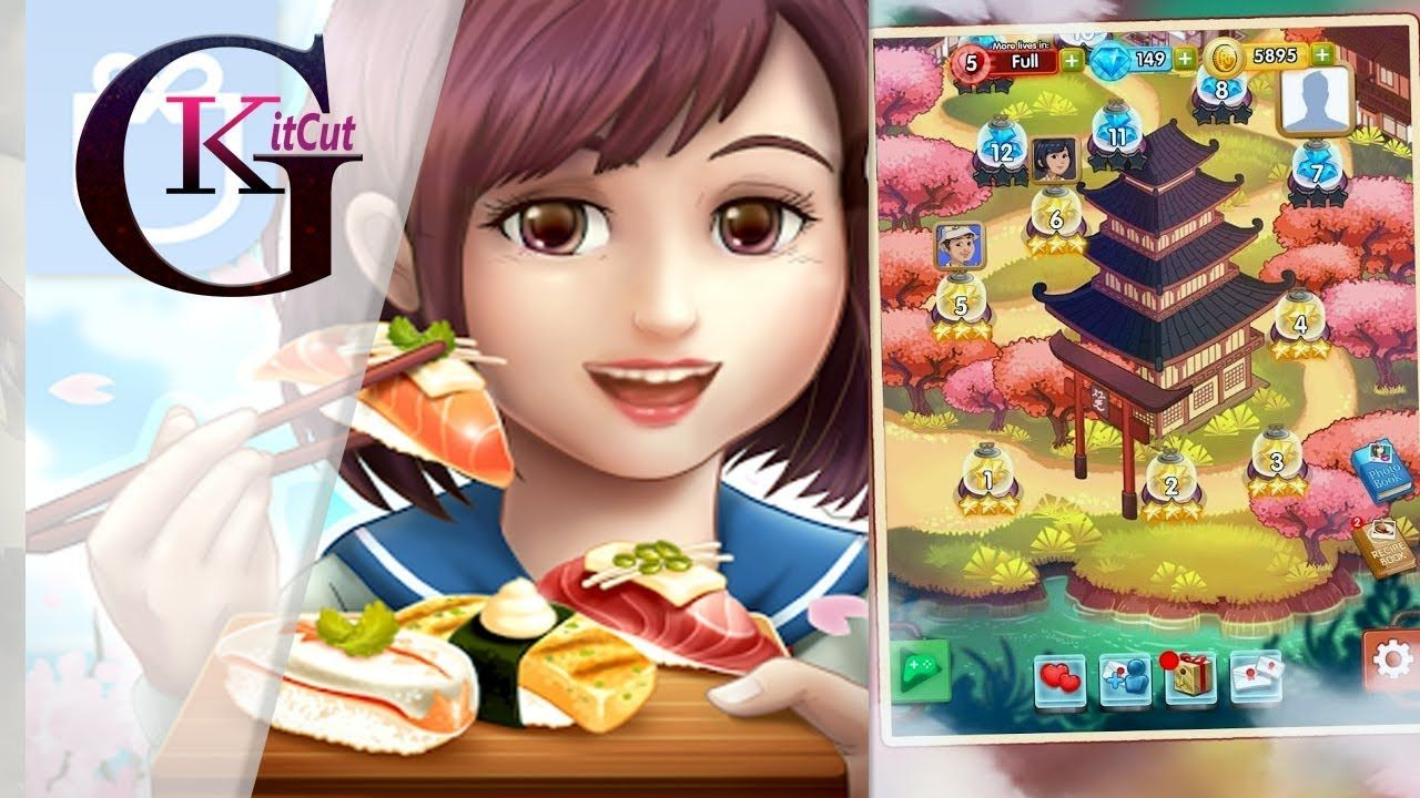 Cuisine Gameplay Japan Food Chain Play Kids Best Cooking Game Apps Android