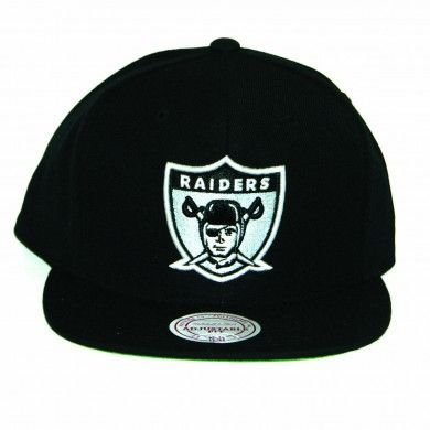 Mitchell   Ness NFL Oakland Raiders Throwback Team Primary Color Snapback 9620591fc