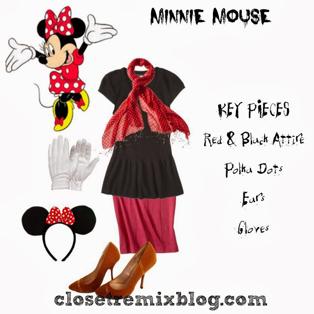 Remix It! Simple Halloween Costumes in Your Closet Part 2 - Cartoon - halloween costume ideas from your closet