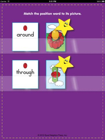 FREE app Aug 19th (reg 0 99) Position Words Matching Game