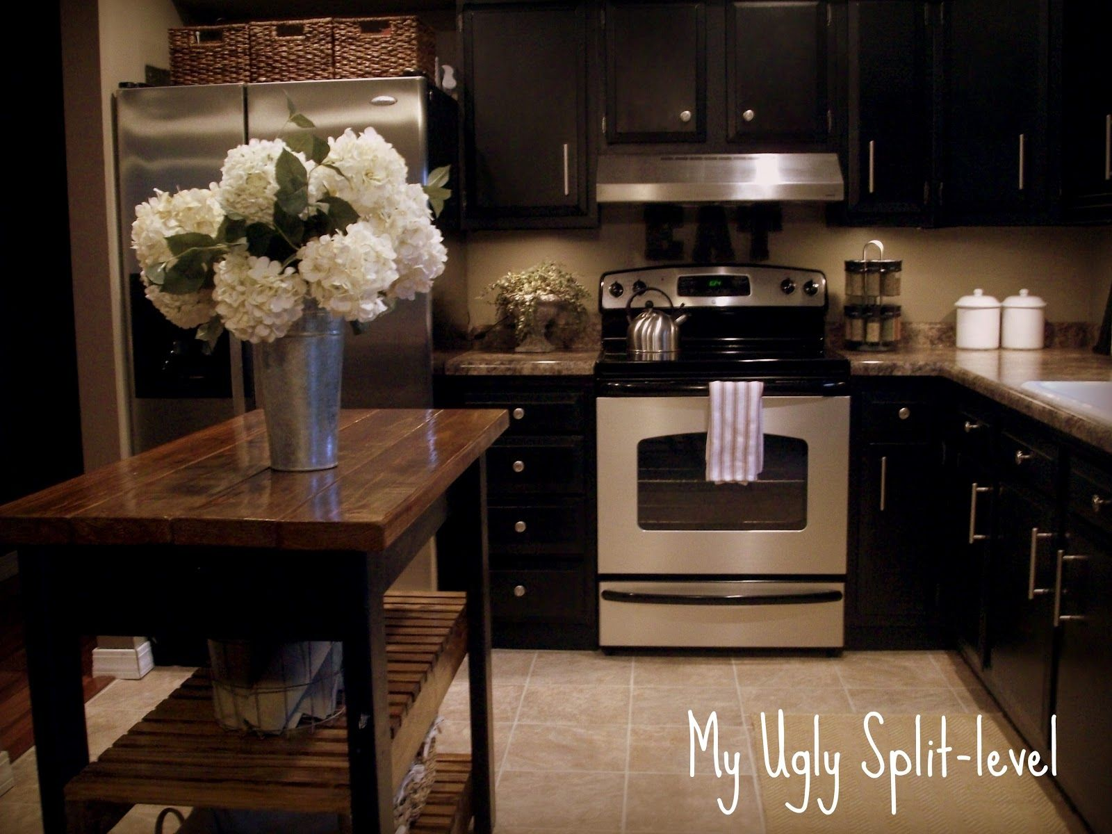My Ugly Split Level The Kitchen For The Home