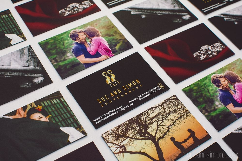 Moo Luxe Business Cards Review + DIY Gold Foil Edge | Photographers