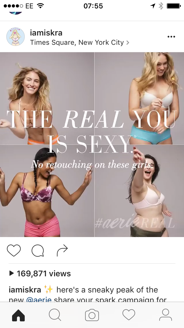 Aerie Real Body Real You Campaign Nurse Aerie Real Real Bodies