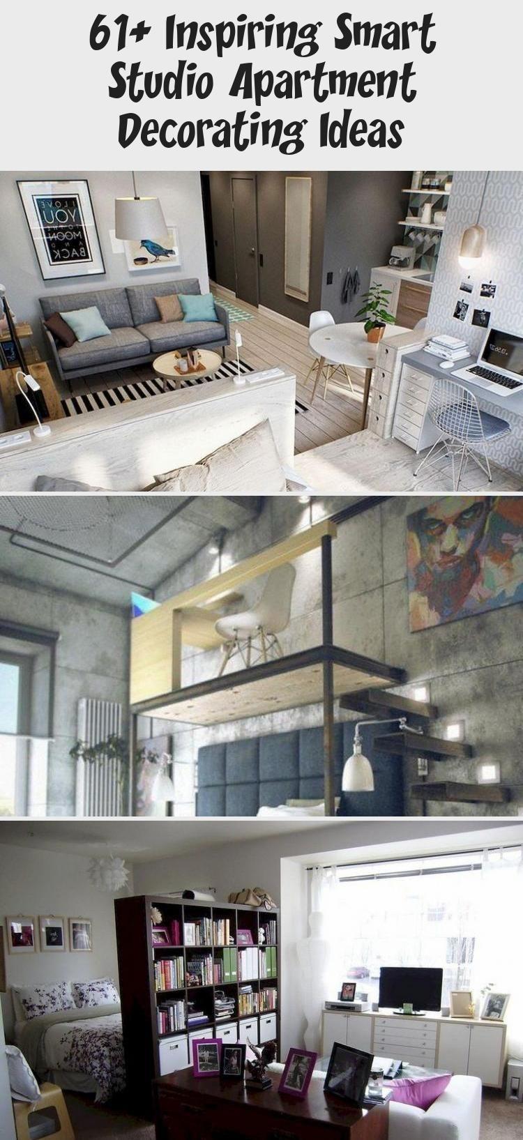 61 Inspiring Smart Studio Apartment Decorating Ideas  Home Decor Diy 61 Inspiring Smart Studio Apartment Decorating Ideas  Home Decor Diy
