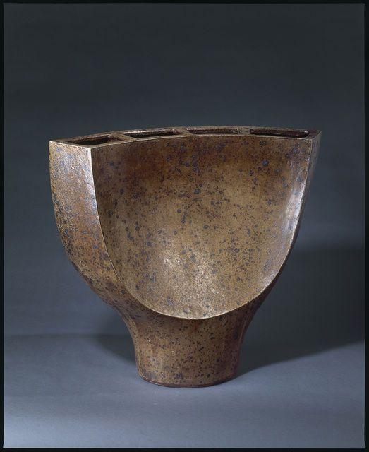 GUSTAVE TIFFOCHE (French: 1930-2011) - Vase (1968)