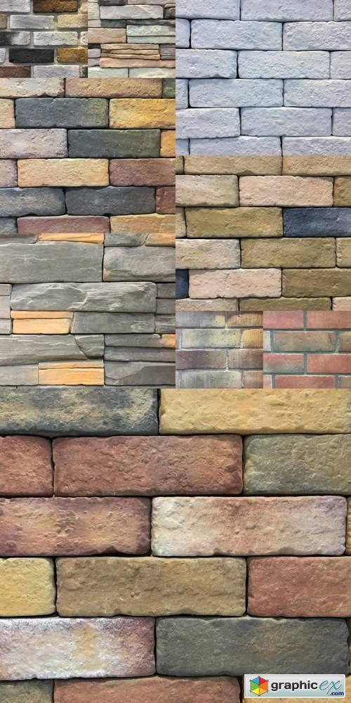 Pattern of Brick Wall  stock images