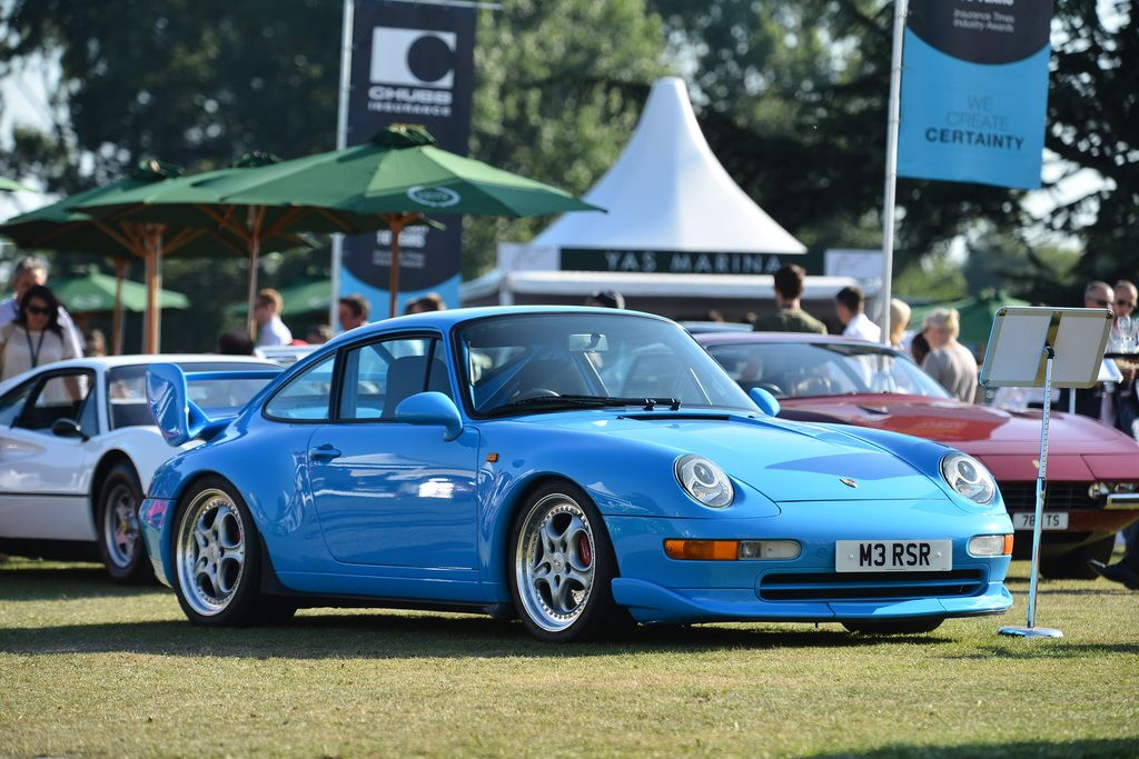 1995 Porsche 911 Carrera RS 3.8 Clubsport