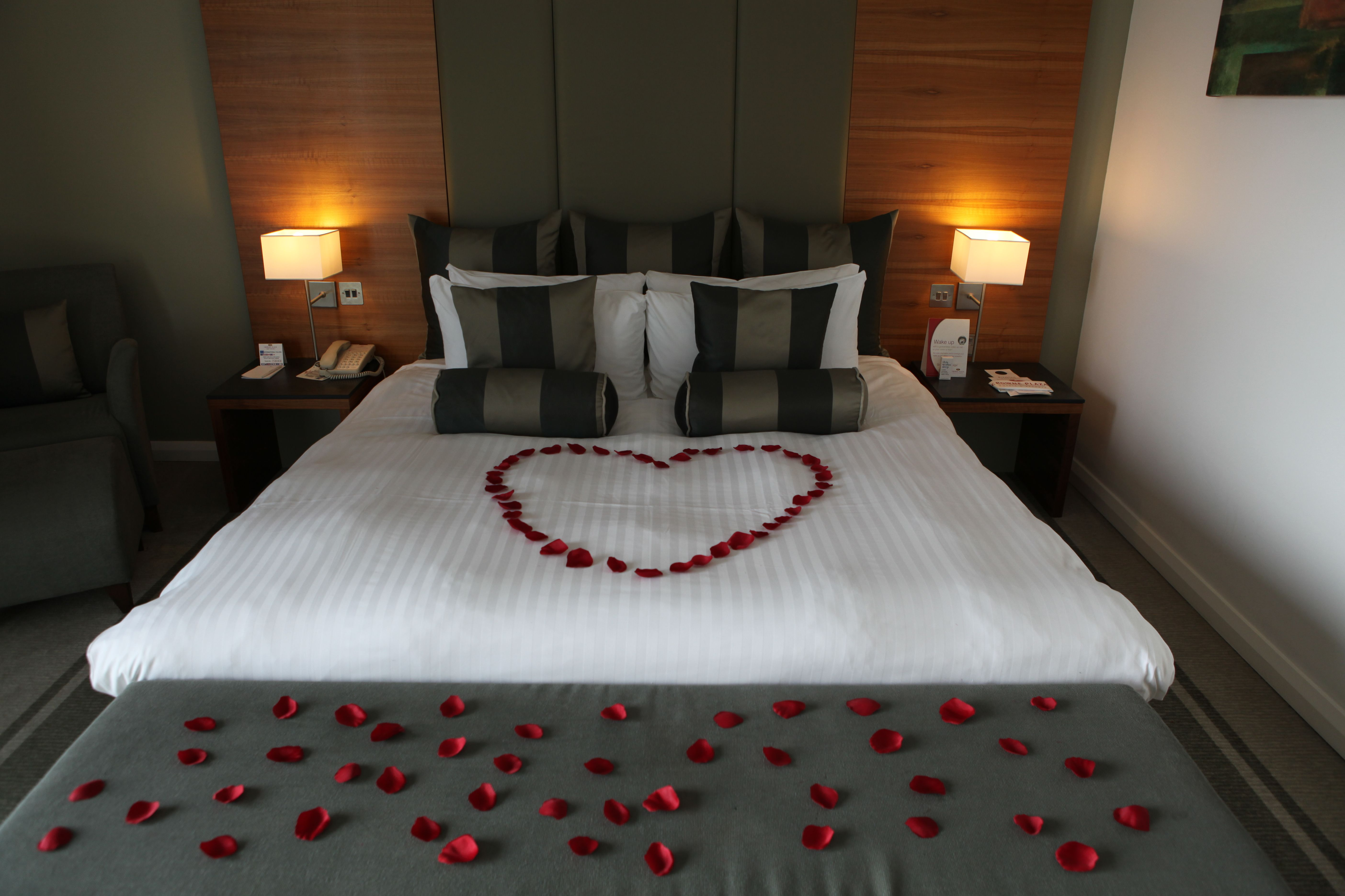 Wedding night bedroom decoration ideas  One of our rooms ready for a wedding night  Weddings and Events