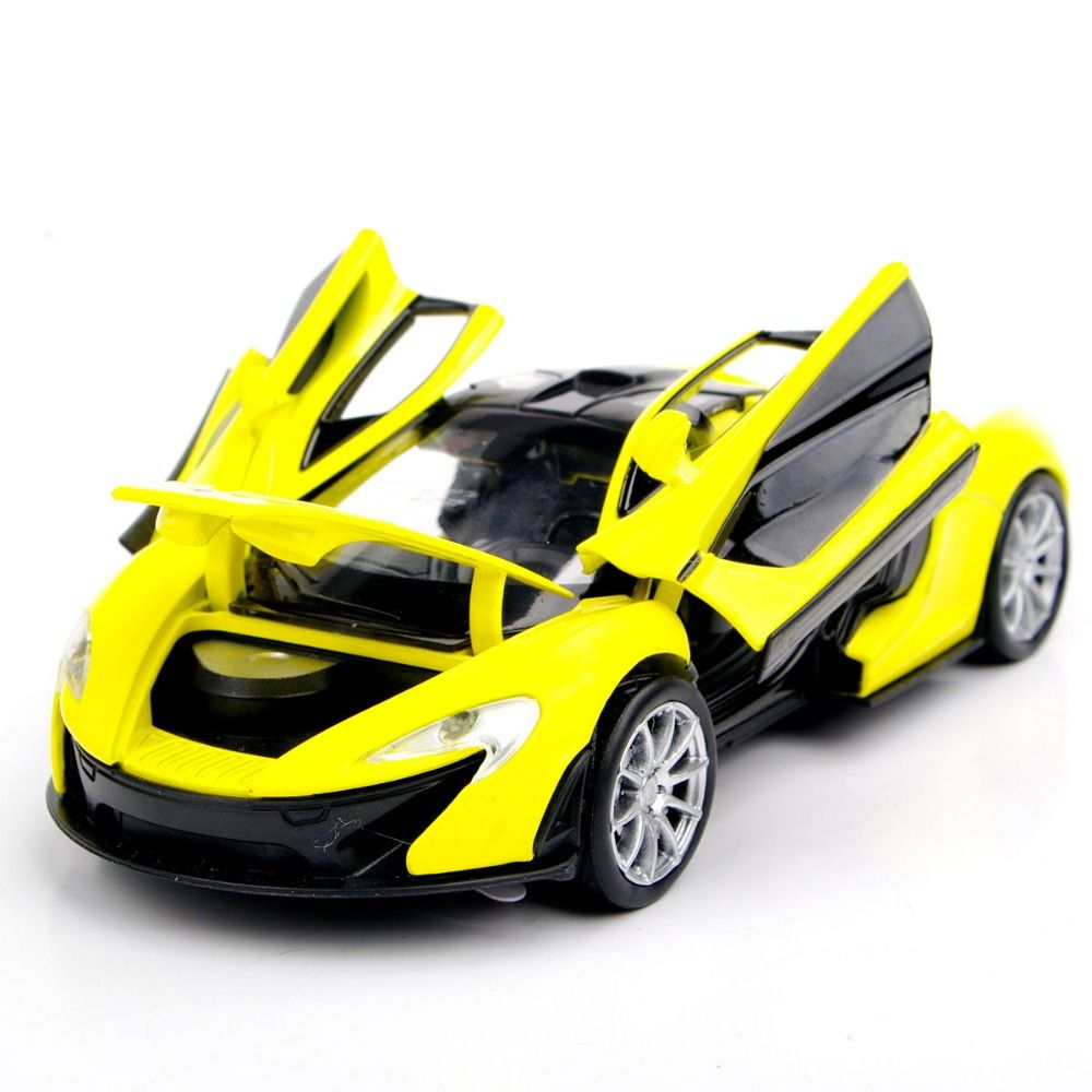 collectible car models 132 yellow mclaren p1 alloy diecast car model toy vehicles electronic