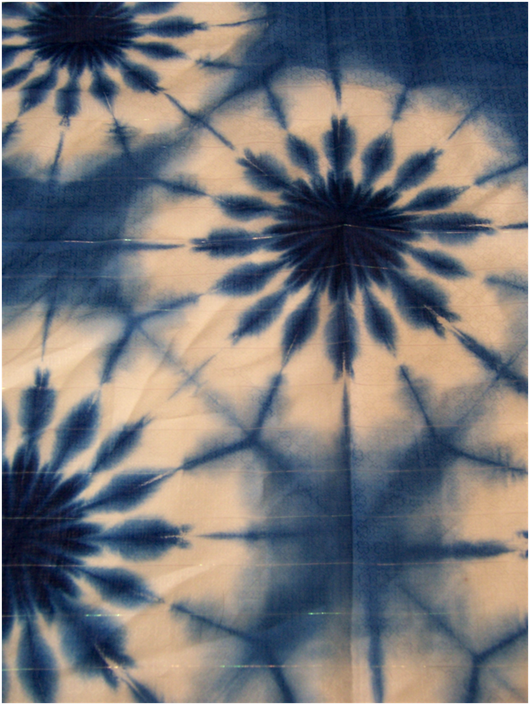I want to figure out how to dye like this shibori style diy pinterest shibori - Technique tie and dye ...