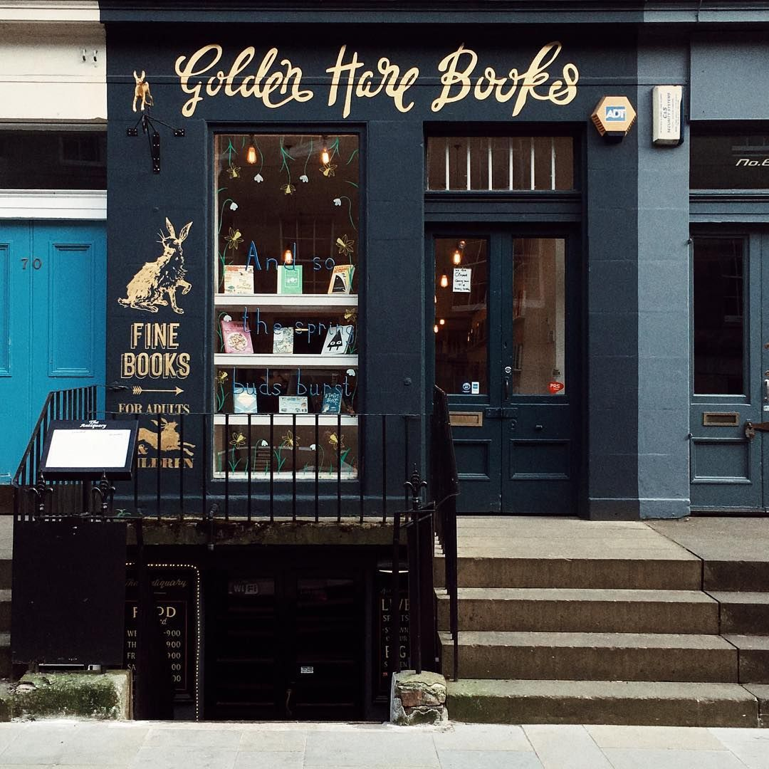 Literature Is My Utopia Helen Keller Myend Ismybeginning Source Storefront Signs Shop Front Signage Storing Paint
