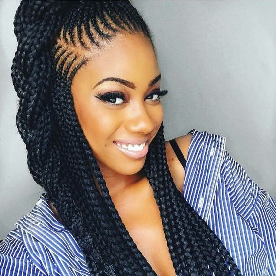 Cleopatra Cool Braid Hairstyles African Hairstyles Braided Hairstyles