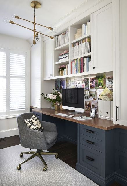 30+ Home Decor Ideas - Beautiful Home Office Decorating