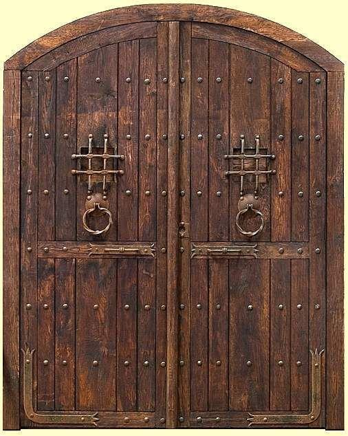 Resultado de imagen para herrajes puertas rusticas for Adornos puertas madera