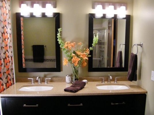 Photo of BATHtastic! Vanities : Home improvement DIY —  This was my inspiration for red…